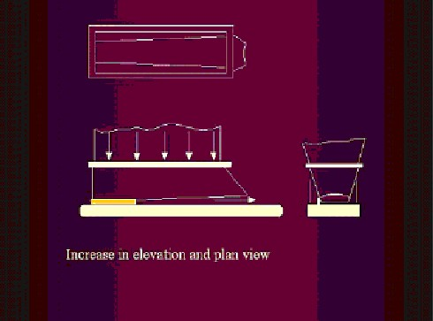 Figure 4. A variable pitch or conical screw conveyor can provide even flow across the bin area.