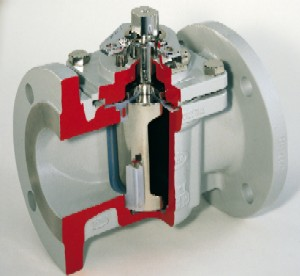 Figure 2. Plug valves have more sealing area than ball valves, making them superior in slurry service.
