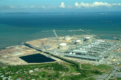 Figure 1. Atlantic LNG's Point Fortin site will monitor over 300 pieces of equipment in four trains. Source: Emerson Process Management.