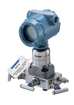 Figure 1. Statistical Process Monitoring software in this pressure transmitter enables detection of plugged impulse lines and provides other diagnostics.
