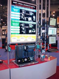 Figure 2. Demonstration units have appeared at several trade shows.