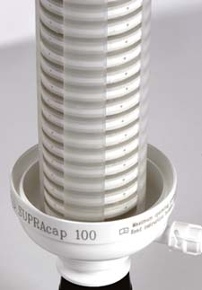 Figure 3. This low-hold-up-volume filter comes in a wide variety of sizes, styles and configurations. Source: Pall.