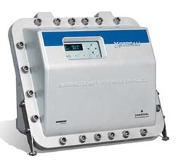 Figure 2. This flameproof process gas analyzer is designed to contend with process environments. Source: Emerson — Rosemount Analytical