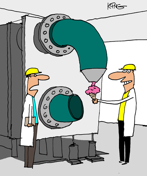 Comical Processing cartoon caption