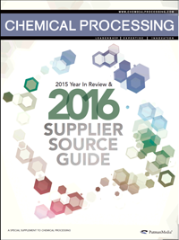 2016 Supplier Source Guide Directory | Chemical Processing