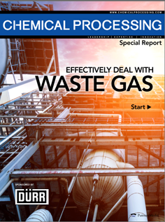 Special Report: Effectively Deal With Waste Gas. Here you will learn: