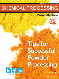 Chemical Processing's Powder eHandbook: Tips for Successful Powder Processing Thumbnail