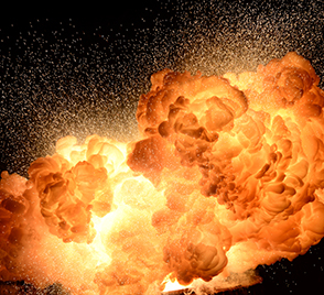 key steps against dust explosion